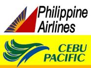 PAL CebuPac logos