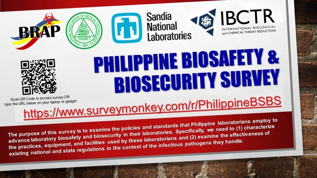 Philippine Biosafety & Biosecurity Survey