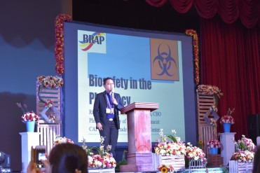 Riel Oli speaker for BRAP n Adamson Univ
