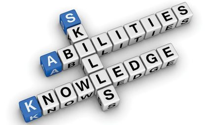 Skills abilities knowledge crosswords