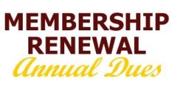 membership renewal annual dues