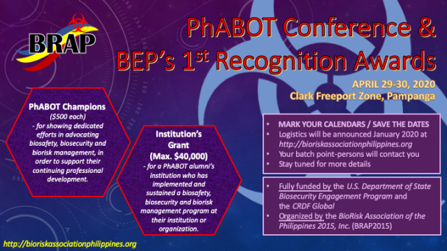 PhABOT 1st Announcement 191200