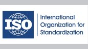 ISO standardization logo