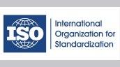 ISO standardization logo